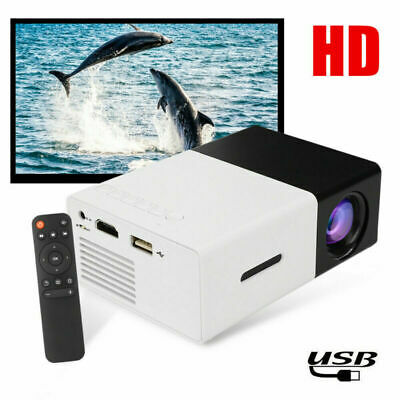 AU44.99 • Buy New Mini Pocket LED Projector Home Cinema HD 1080P Portable Cinema HDMI USB