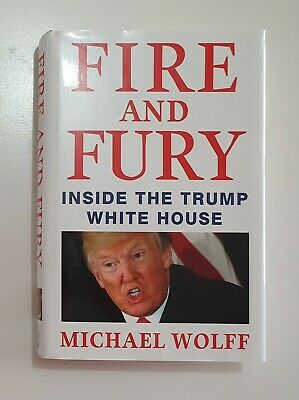 AU19.95 • Buy Fire And Fury By Michael Wolff 2018 Hardcover FREE POSTAGE