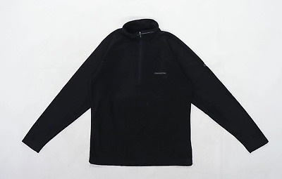 Craghoppers Womens Size 8 Fleece Black Jacket • 10£