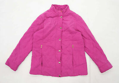 £10 • Buy Isle Womens Size 12 Textured Pink Soft Shell Jacket