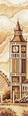 £11.78 • Buy London -  Counted Cross Stitch Bookmark Kit By Andriana B-53