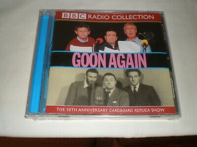 BBC RADIO COLLECTION GOON AGAIN 50th ANIVERARY EDITION WITH SPIKE MILLIGAN ETC • 4.99£