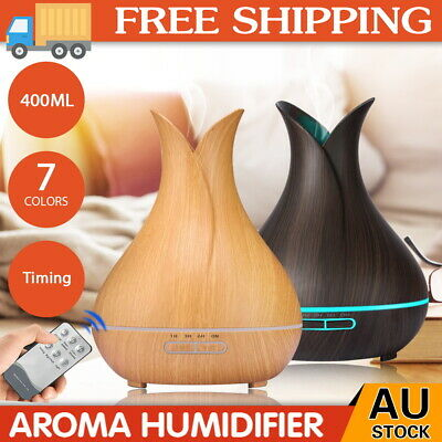 AU11.89 • Buy Aroma Aromatherapy Diffuser LED Essential Oil Ultrasonic Air Humidifier Purifier