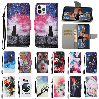 AU6.08 • Buy Case For IPhone 12 11 Pro Max XR XS SE 2020 Patterned Flip Leather Wallet Cover