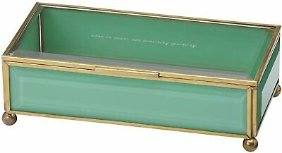 $ CDN63.13 • Buy Kate Spade New York ~ Out Of The Box ~ Lenox Jewelry Box Turquoise ~ NIB