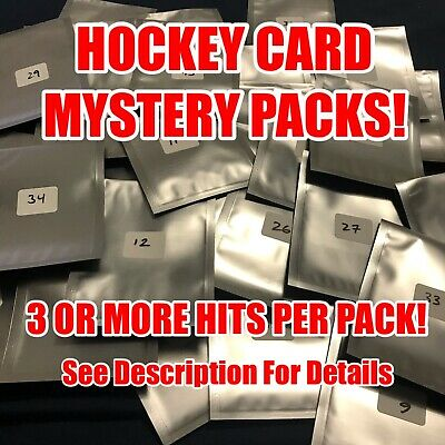 $ CDN5.99 • Buy Inventory Clear Out! Upper Deck Mystery Hockey Cards Packs! 3+ Hits! Auto/jersey