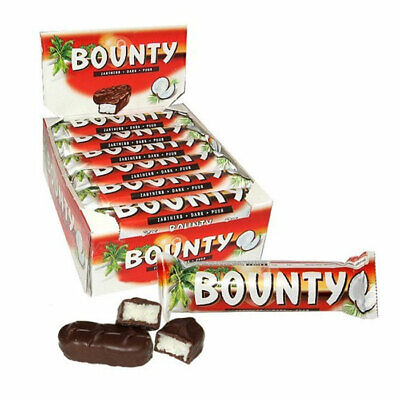 Bounty Coconut Dark Chocolate Twin Bar - Pack Of 24 • 15.99£