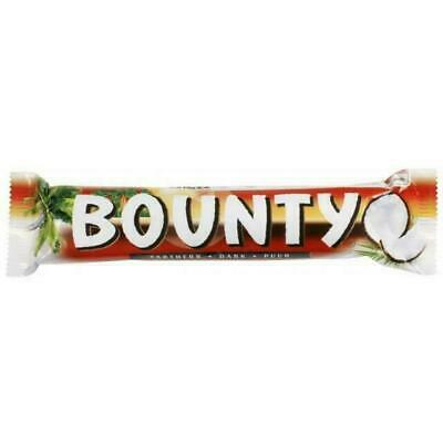 Bounty Coconut Dark Chocolate Twin Bar - Pack Of 24 Fast Delivery - Long Expiry • 15.99£