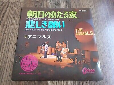£14.95 • Buy The Animals - The House Of The Rising Sun 7  Re Odeon Japan Near Mint
