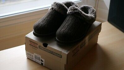 Bobs By Skechers Slippers UK5 Chocolate Keepsake Ice Angel New With Tags • 35£
