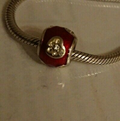 £18 • Buy Amore Baci Charm In Red
