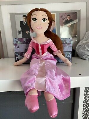Disney Store Belle Pink Dress Beauty And The Beast Soft Toy Plush Doll • 9.60£
