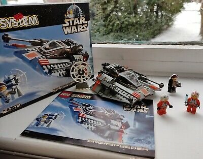 Lego 7130 Snow Speeder, Complete With Minifigures, Box And Instructions • 24£