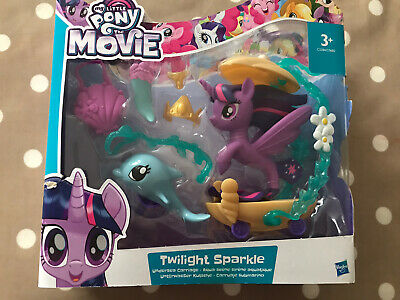 My Little Pony Movie Twilight Sparkle Undersea Carriage NEW Sealed Pack Gift • 9.99£
