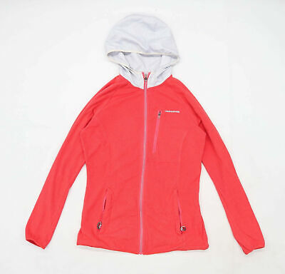 Craghoppers Womens Size 8 Fleece Red Jacket • 10£