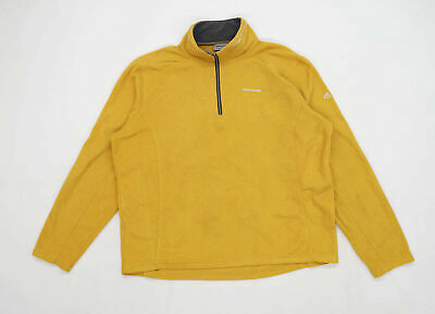 Craghoppers Womens Size 2XL Fleece Yellow Jacket • 10£