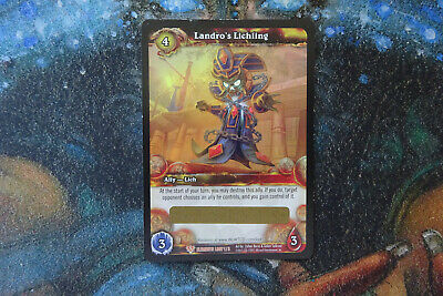 £19.99 • Buy WoW Warcraft Card - 1 X Landro's Lichling LOOT Card - Ccg Tcg - Unscratched