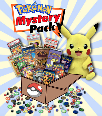 AU300 • Buy Pokemon Vintage Custom Mystery Box | PSA 10, Collectibles, Boosters! 🔥