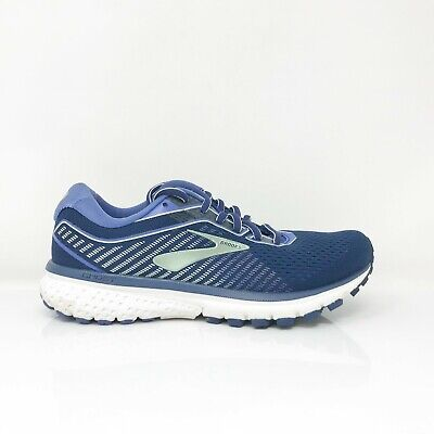 $ CDN64.55 • Buy Brooks Womens Ghost 12 1203051D413 Blue Running Shoes Lace Up Low Top Size 7 D