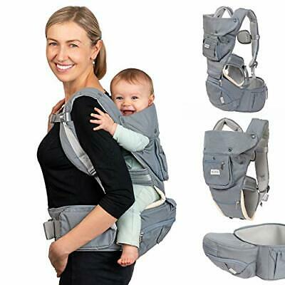 Dwelle Baby Carrier Sling Hip-Seat - Baby Carrier With Hip Seat And Waist • 58.44£