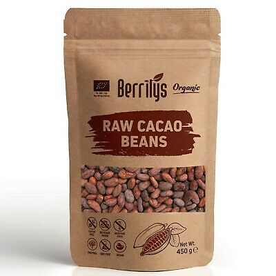 £12.88 • Buy Organic Cacao Beans, Raw, Whole, No Preservatives, No Additives, From Dominic...