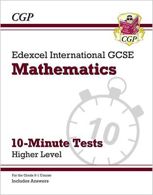 Edexcel IGCSE Maths 10-Minute Tests - Higher (Ages 14-16) By CGP 9781789082708 • 5.50£