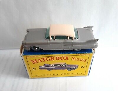 £180.34 • Buy Matchbox 27c Cadillac Sixty Special Rare Silver ! Spw Mint ! & D Box