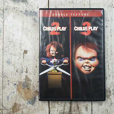Childs Play 2 Childs Play 3 Double Feature DVD Brad Dourif Alex Vincent • 7.15£