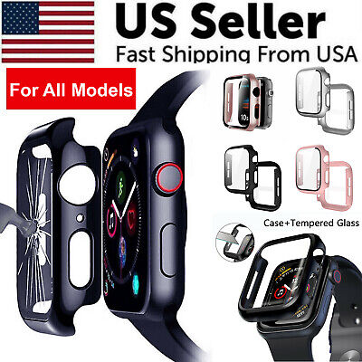 $ CDN6.13 • Buy Protector Cover Hard Case For IWatch Apple Watch Series 1 2 3 4 5 6 38/40/42/44