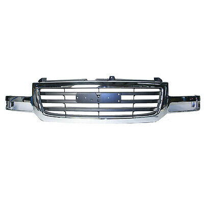 $138.95 • Buy New Front Grille Fits 2003-2006 GMC Sierra 19130791
