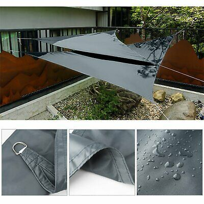 AU38.99 • Buy Extra Heavy Duty Shade Sail Sand Sun Canopy Outdoor Triangle Square Rectangle