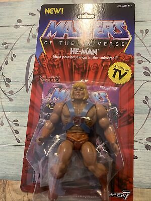 $35.88 • Buy Super 7 Masters Of The Universe Vintage He-Man 5 1/2  Action Figure. NIB