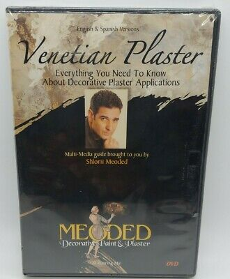 £27.61 • Buy Venetian Plaster, Everything You Need To Know About Decorative Plaster  *Sealed*