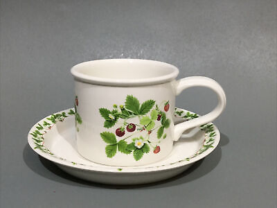 £7.95 • Buy Portmeirion Summer Strawberries Cup & Saucer