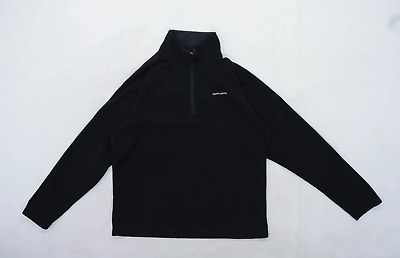 Craghoppers Womens Size L Fleece Black Half Zip Jacket • 10£