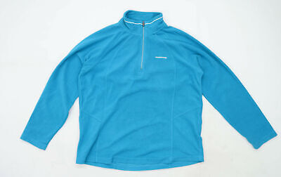 Craghoppers Womens Size 16 Fleece Teal Jacket • 10£