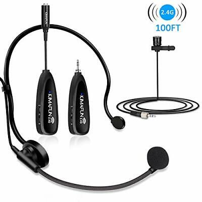 Wireless Microphones System,  2.4G Wireless Microphone Headset And • 88.99£