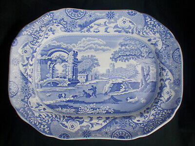 £35 • Buy Spode BLUE ITALIAN  Oblong Dish. Measures 12¼ X 9 Inches.