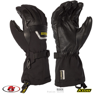 $ CDN169.28 • Buy NEW KLIM Fusion Snowmobile Gore-tex Glove - Black - Size MD Medium Motorcycle