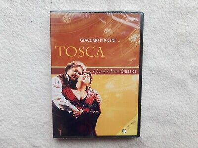 £7.99 • Buy Tosca Giacomo Puccini Grand Opera Classics DVD BRAND NEW SEALED R0-ALL FAST POST