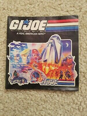 $ CDN22.72 • Buy VINTAGE 1987 HASBRO G.I. Joe GI Fold-Out Insert Poster Checklist Vehicles COBRA