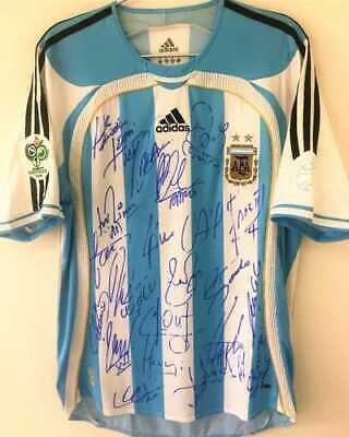 AU968.74 • Buy Jersey Argentina World Cup 2006 19 Lionel Messi - Autographed By All The Players