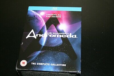 Blu-Ray Gene Roddenberry's ANDROMEDA Complete Collection 25 Disc Set Revelation • 42.52£