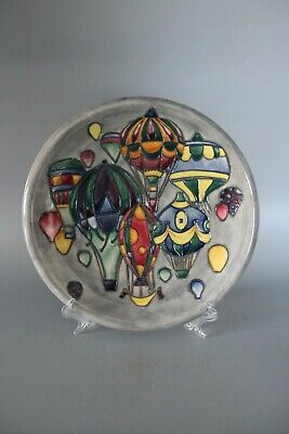 £175 • Buy Moorcroft Pottery 27cm Balloons Plate By Jeanne McDougall