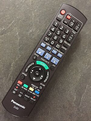 £19.95 • Buy Panasonic N2qayb000462 Dvd Recorder Genuine Remote Fully Refurbished And Tested