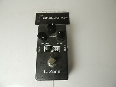$ CDN158.24 • Buy Original Dunlop Q-Zone QZ1 Fixed/Cocked Crybaby Wah Effects Pedal Free USA S&H