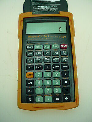 $76.86 • Buy Calculated Industries Machinist Calc Pro 2 4088 Calculator With Armadillo Case