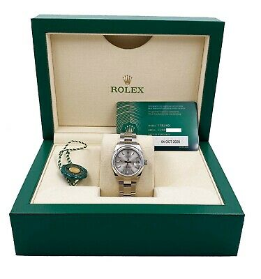 $ CDN11821.74 • Buy BRAND NEW Rolex 31mm Midsize Datejust 178240 Silver Dial Stainless Steel 2020