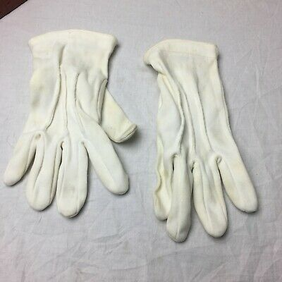 $6.69 • Buy White Military Color Guard Ceremonial Parade Formal Dress Waiter Band Gloves