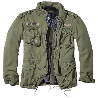 $100.80 • Buy BRANDIT GIANT M65 JACKET GREEN Mens Field Warm Military Army Coat With Liner